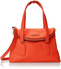 Marc by Marc Jacobs Silicone Valley Satchel Top Handle Bag, Bright Tangelo, One Size Marc by Marc Jacobs http://www.amazon.com/dp/B00WJO1R1G/ref=cm_sw_r_pi_dp_tAJ5vb07GXTV9