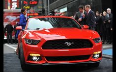 The Road to the Empire State Building for a 2015 Ford Mustang