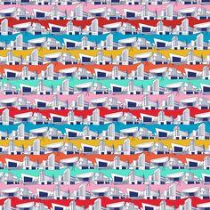 art deco inspired cimena buildings - cinema  kitsch style - Ryan Deighton