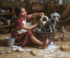 ~ Morgan Weistling: Rosie's Bath