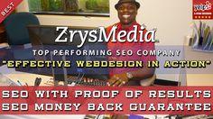 Effective Website Design Services by Zrysmedia, Sacramento SEO Company