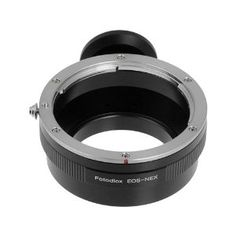 Fotodiox Lens Mount Adapter, Canon EOS Lens to Sony Alpha Nex E-mount Camera Adapter, fits Sony NEX-3, NEX-5, NEX-5N, NEX-7, NEX-7N, NEX-C3, NEX-F3, Sony Camcorder NEX-VG10, VG20, FS-100, FS-700, fits EOS EF, and Efs lenses by Fotodiox. $22.95. Premium Grade Fotodiox Lens Mount Adapter. Manual Mode is required while adapter attached
