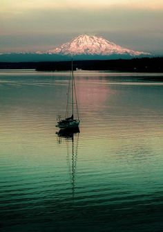 Gig Harbor in Washington; northwest USA