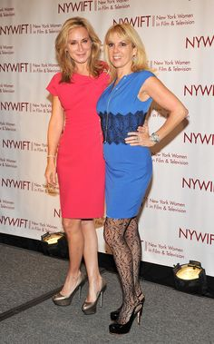 Ramona Singer Sonja Morgan Photos - Sonja Morgan and Ramona Singer attend the New York Women In Film & Television Annual Muse Awards at the New York Hilton Grand Ballroom on December 2011 in New York City. - New York Women In Film & Television Awards Housewives Of New York, Real Housewives, Ramona Singer, Peplum Dress, Bodycon Dress, Photo L, Front Row, Awards, Stylists