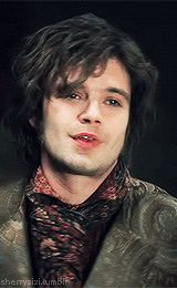 Jefferson / The Mad Hatter (Once Upon a Time) - just realised what he said! 'I don't do that anymore.' I detect a pattern..