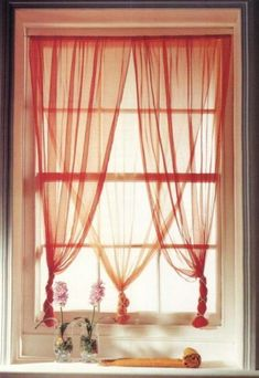 Home Decored Ideas Apartment Curtains Window Treatments Ideas Bedroom Window Dressing, Kitchen Window Dressing, Bedroom Windows, Window Drapes, Hanging Curtains, Window Lights, Beaded Curtains, Diy Curtains, Bedroom Colors