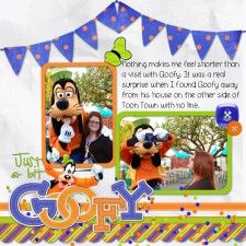 goofy16 - MouseScrappers - Disney Scrapbooking Gallery