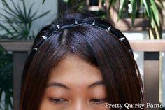 DIY Studded Headband / Bracelet