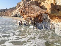 Armathia beach near Kassos / S. Places In Greece, Beautiful Places, Simply Beautiful, Greek Islands, Planet Earth, Geology, Photos, Beach, Water
