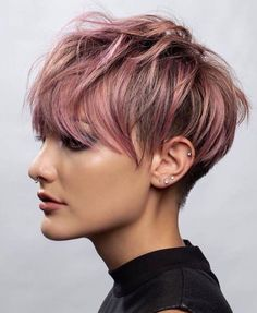 Long Pixie Hairstyles, Latest Short Hairstyles, Short Pixie Haircuts, Haircut Short, Haircut Men, Hairstyles Haircuts, Undercut Pixie Haircut, Pixie Haircut Styles, Hairstyles Pictures