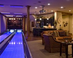 Dallas Design, Pictures, Remodel, Decor and Ideas - @Susan Garcia @Kate Garcia ~look!  our basement:)