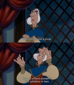 This is probably my favorite line in the Swan Princess :)