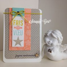 Le blog de Scrappy Géri: Cartes de mars pour le forum Little Scrap