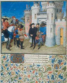 Giovanni Boccaccio - The liberation of Arcitas.