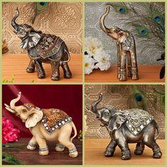 Elephant Statue Favors from elephantwedding Mandala, Elephants Photos, Indian Theme, Elephant Art, Elephant Wedding, Wooden Art, Wedding Party Favors, Statue, Yellow Roses