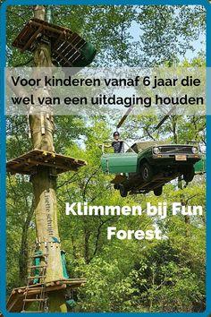 Zoek je nog een actief uitstapje voor de zomervakantie? Klimmen bij Fun Forest is echt een aanrader. Lees hier hoe wij onze grenzen verlegden.