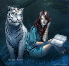 Tiger and Kelsey by ~Juhani  on deviantART