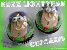 How to Make Buzz Lightyear Cupcakes