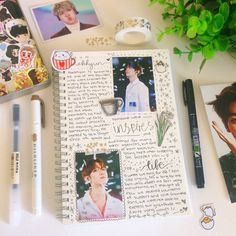 instagram: singforbyun ♡ kpop // exo journal :: baekhyun :: 30 day writing challenge #exo #journal