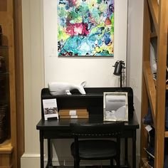 Artist Benna Holden solo exhibition at Pottery Barn in NYC