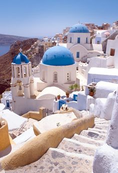 GREEK ISLAND HOPPER: The ancient capital of Athens, then 2 of the magical Greek Isles: Mykonos & Santorini; travel independently with flights, hotel & ferry included