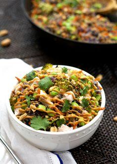 One Pot Thai Quinoa Bowl