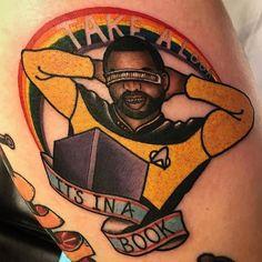 Take A Look It's In A Book by @chase_tattoos at @tildeathdenver in Denver Colorado. #takealook #itsinabook #rainbow #levarburton #readingrainbow #takealookitsinabook #geordilaforge #startrek #thenextgeneration #trekkie #chasetattoos #tildeath #tildeathdenver #denver #colorado #tattoo #tattoos #tattoosnob