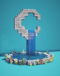 Minecraft Farm, Minecraft Cottage, Cute Minecraft Houses, Minecraft House Tutorials, Minecraft Plans, Amazing Minecraft, Minecraft Construction, Minecraft Blueprints, Minecraft Creations