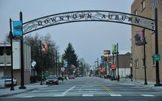 My Hometown and Nearby Cities- Auburn is about 15 minutes away.  My mom works here sometimes.  City with lots of restaurants, and stores, a theater and some nice parks.