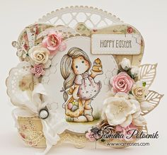 Handmade by Tamara: Tilda with egg and chicken ❀ I am roses
