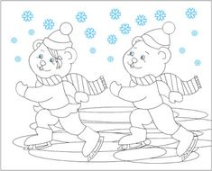 Crafts,Actvities and Worksheets for Preschool,Toddler and Kindergarten.Free printables and activity pages for free.Lots of worksheets and coloring pages. Coloring Pages Winter, Free Coloring Pages, Coloring Books, Color By Number Printable, Winter Colors, Christmas Colors, Winter Season, Adult Coloring, Winter Wonderland