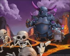 WHY ARE THE SKELETONS RUNNING AWAY Clash Of Clans, Clash Royale Drawings, Goblin, Weird Art, I Am Awesome, Nerd, Geek Stuff, Anime, Fan Art