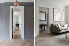 Parquet floor inspiration for a recently renovated house and tips and tricks on how to lay a herringbone floor yourself for Rock My Style DIY Week Rock My Style, Style Uk, Wooden Sash Windows, Victorian Hallway, Parquet Flooring, Flooring Ideas, Floors, Bungalow Renovation, House Renovations