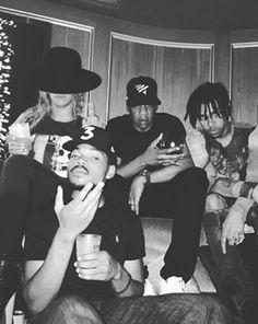 Jay Z, Beyonce, Chance The Rapper, Vic Mensa