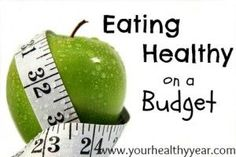 Eating Healthy on a budget.