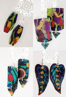 polymer jewlery by Julie at Balzer Designs