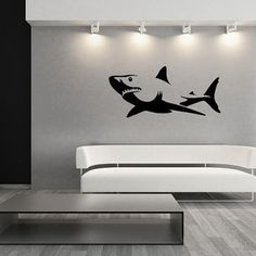 Shark Vinyl Wall Decal 22303                                                                                                                                                                                 More