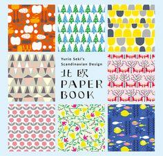 Cover design of Yurio Seki's Scandinavian Design PAPER BOOK