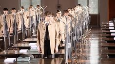 My favorite Thom Browne presentation ever. I lust for his highwaters.