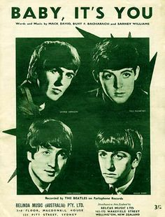 """March 20, 1995Beatles song, """"Baby It's You""""  released."""