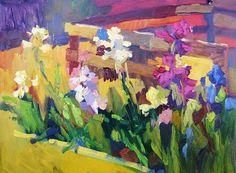 Garden Belles by Larisa Aukon Oil ~ 12 x 16