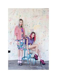 The Material Girl Spring 2012 Editorial is Full of Pretty Attitude #Pop Culture trendhunter.com