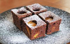 Fotorecept: Karamelový marhuľový koláč