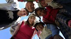as crianças da montanha