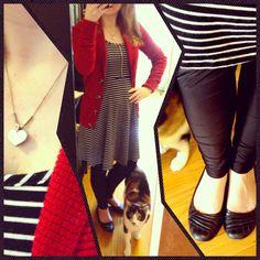 Striped Dress, Capri Pants, Tote Bag, Bags, Dresses, Fashion, Handbags, Vestidos, Moda