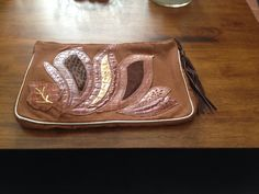 Vintage Italian Huge Brown Corduroy Leather Suede by ItsallforHim