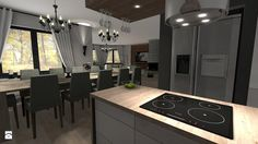 Kuchnia styl Minimalistyczny - zdjęcie od Atena Projektowanie wnętrz - Kuchnia - Styl Minimalistyczny - Atena Projektowanie wnętrz