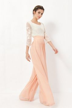 HouzDeco – Interior Design and Home Decor Ideas Pink Outfits, Mom Outfits, Fashion Outfits, Mom Dress, Dress Up, Baptism Outfit, Maid Of Honour Dresses, Pantalon Large, Elegant Outfit