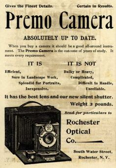 Kodak's Premo cameras – Premo Camera (1894)