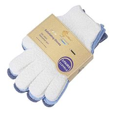 EvridWear Exfoliating Dual Texture Bath Gloves for Shower, Spa, Massage and Body Scrubs, Dead Skin Cell Remover, Gloves with hanging loop Pairs) Exfoliating Gloves, Spa Massage, Shower Gel, Bath Shower, Dead Skin, Smooth Skin, Body Wash, How To Remove, Body Scrubs